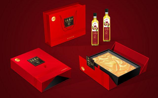 百香果油禮盒設計1