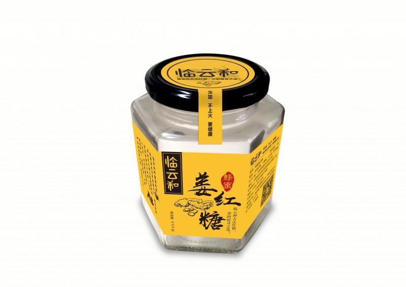 臨云和蜂蜜姜紅糖包裝設計